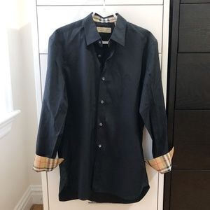 Burberry William Shirt with Check, NEW WITH TAGS